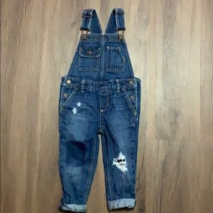 Gently used Baby Gap Overalls